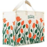 DOUBLE R BAGS Canvas Shopping Bags (Multicolored_DD-01)