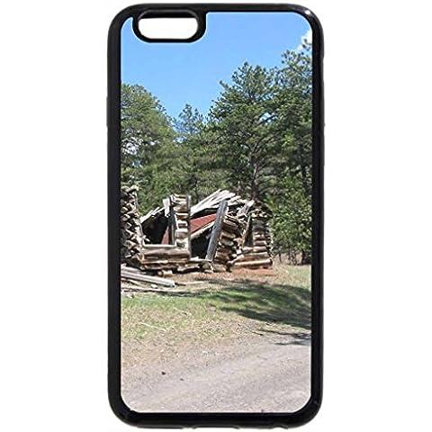 iPhone 6S Plus Funda, iPhone 6Plus, pérdida de cabina en el bosque