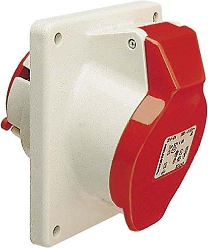 Preisvergleich Produktbild Walther Werke Anbaudose Schräg 16A 511404 4P 110V 4h IP44 CEE-Anbausteckdose 4015609021208