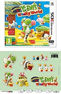 3DS Poochy and Yoshi's Woolly World + Parches de tela (B01MR2ACE4) | Amazon price tracker / tracking, Amazon price history charts, Amazon price watches, Amazon price drop alerts