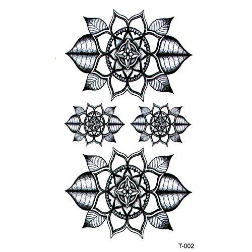 LBBMBC Lotus Wasserdicht Temporäre Tätowierung Aufkleber Totem Fake Tattoo Flash Kind Tattoo Aufkleber Günstige Dinge