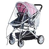 ZOEON Universal Regenschutz für Kinderwagen, Gute Luftzirkulation Windschutz für Buggy