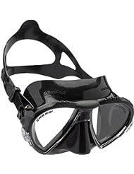 Cressi Matrix - Gafas de buceo, color negro