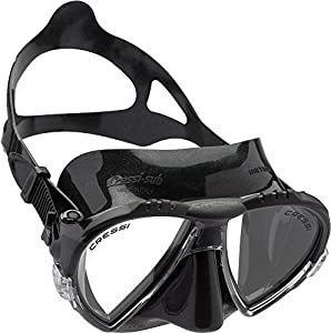 Cressi Tauchermaske Matrix, schwarz dark, DS302050