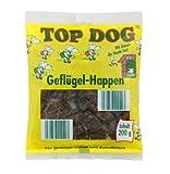 Top Dog Geflügelhappen - Geflügel - 100% Geflügelfleisch - 200g Trainingssnack - PREMIUM Qualität aus Deutschland