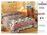 Trapunta 3D Digitale AMALFI Misura: 1 Piazza ( singolo) 170 x 260 cm Composizione: 100%microfibra Imbottitura : 100% polyestere