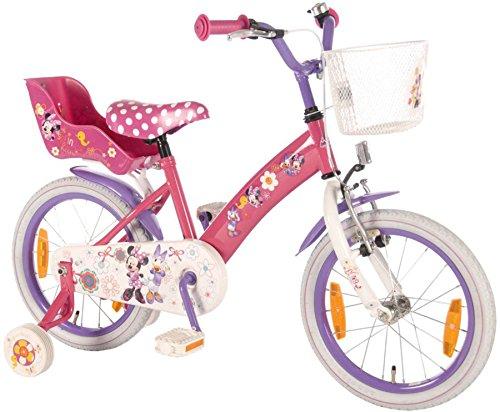 hrrad Fahrrad Mädchenfahrrad Disney Minnie Mouse Maus Bike VOLARE (Minnie Maus-korb)
