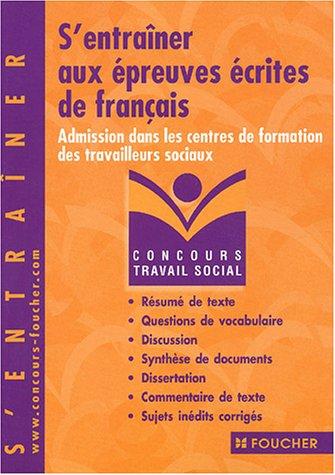 Concours Travail social : S'entraîner aux épreuves écrites de français, Concours médico-sociaux (Admission dans les centres de formation de travailleurs sociaux), numéro 14