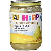 HiPP Birne in Apfel mit Dinkel, 6er Pack (6 x 190 g)