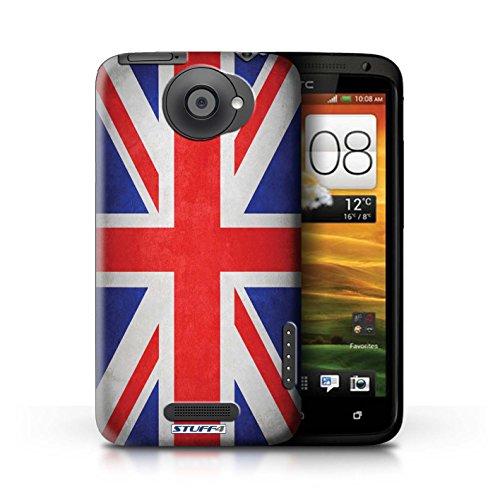 Kobalt® Imprimé Etui / Coque pour HTC One X / Pays de Galles/gallois conception / Série Drapeau Royaume-Uni/Britannique