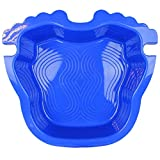Linxor France  Pédiluve bleu avec fond antidérapant et accroche échelle pour...