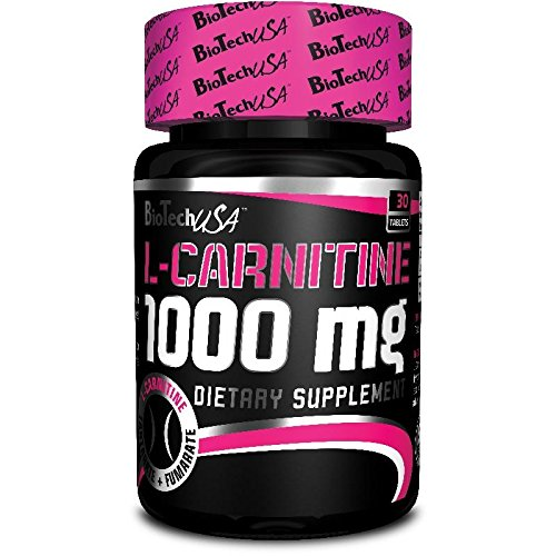 Biotech USA 14001020000 L-Carnitine 1000 mg