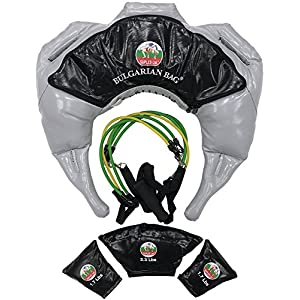 Suples Argarian Bag – Strong Fit Modell (Grau, groß, 37-44 lbs, Synthetikleder) Suples – The Original bulgarische Bag Creator – Crossfit, Sandsack, Trainingstasche, Gewichtstasche