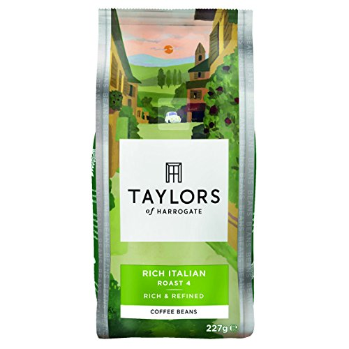 Taylors of Harrogate Rich Italian Coffee Beans 227g (Pack of 3)