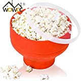 Pinkdose® 2017 High Quality Popcorn Bowl Popper Maker DIY Collapsible Silicone Microwave Popcorn Maker Healthy Snack Kitchen Tool