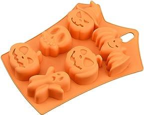 Halloween Kuchenform Silikon für Pralinenform Silikon und Silikonform Fondant und Silikon Eiswürfel Form