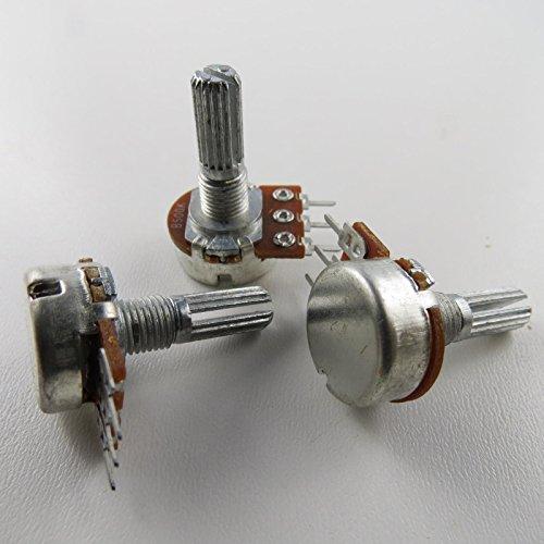 Unbekannt 2 x Poti Potentiometer Dreh 1-Turn 100k linear 6mm Drehwiderstand Widerstand