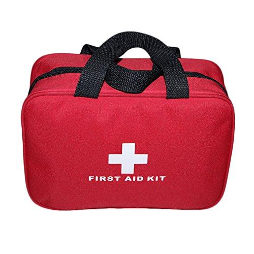 Aoutacc Nylon Leer Erste Hilfe Set, kompakt und leicht Erste Hilfe Set für Haus den Notfall zu, Büro, Auto, im Freien, Boot, Camping, Wandern (Nur Tasche)