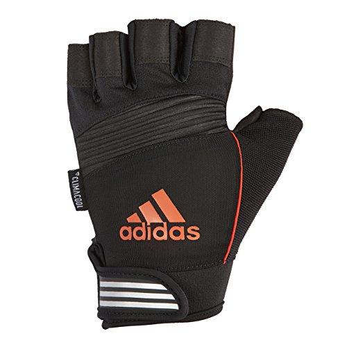 Adidas Performance Gloves Unisex Handschuh, Schwarz/Orange, L