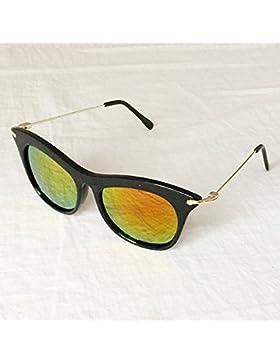 LLZTYJ Gafas De Sol/Viento/Sol/Playa/Aire Libre/Cumpleaños/Regalo/San Valentín/Gafas De Sol Redondas De Anteojos...