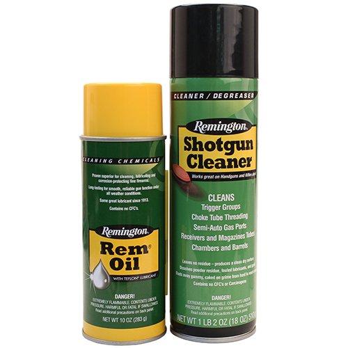 Rem Oil & Shotgun Cleaner 10 oz. & 18 oz. aerosols
