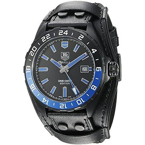 Tag Heuer Hombre Reloj Automático Swiss Titanium y de piel