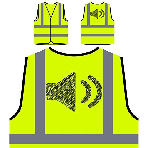 speak-louder-loud-novelty-new-funny-art-chaqueta-de-seguridad-amarillo-personalizado-de-alta-visibil