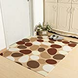 Door home mat Kitchen hall waterproof toilet mat-C 80x100cm(31x39inch)