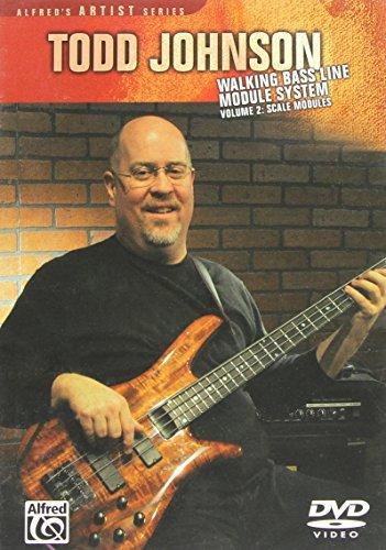 Preisvergleich Produktbild Todd Johnson: Walking Bass Line Module System,  Vol. 2 - Scale Modules