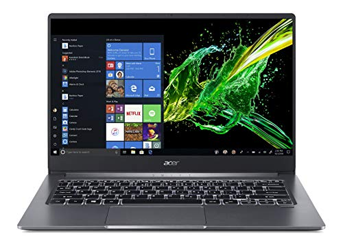 Acer Swift 3 SF314-57 14-inch Ultra Thin and Light Notebook(10th Gen Intel Core i5-1035G1 processor/8GB/512 SSD/Windows 10/Thunderbolt 3),1.19 kgs, Steel Grey