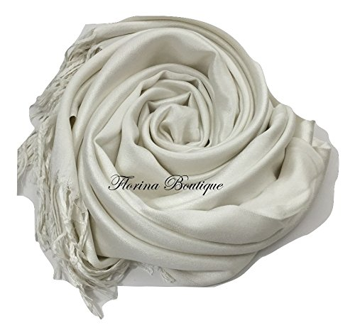 Florina Boutique - Fichu - Femme Blanc Cassé