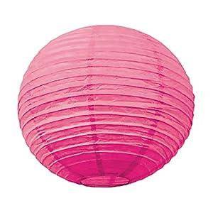 Tim & Puce 50210S Bubble Gum - Farolillos japoneses (15 cm), Color Rosa