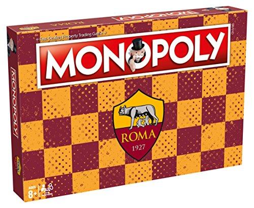 Winning Moves Juego tavolo-Monopoly Equipos Calcio-Roma