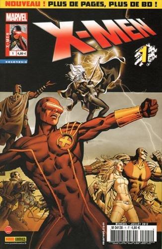 X-men 2012 001 par Marvel Panini France
