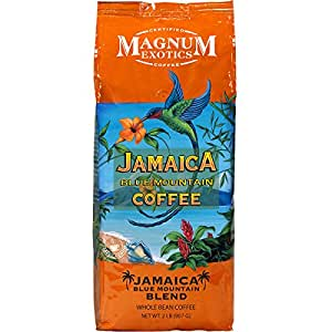 Jamaica Blue Mountain Coffee Whole Bean Mélange 1colis 0,9kilogram (907g)