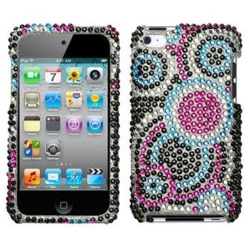 Screen Protector 4th Ipod (Bling/Crystal Case for Apple iPod Touch 4th Generation - Diamond Bubble Design)