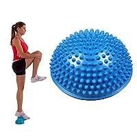 OFKPO Reflexology Training Massage Ball, Yoga Fitness Half Hedgehog Ball Foot Balance Ball for Yoga Fitness Gymnastics Exercise
