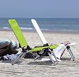 Jan Kurtz Quick Aluminium Beach Chair Garden Chair green