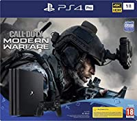 CONSOLE PS4 1To PRO G + COD MW 4 - PS4PS4 PRO 1 Tb G Black + Call Of Duty Modern Warfare IV