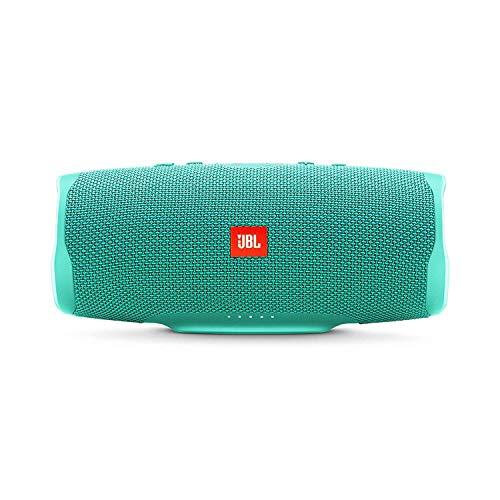 JBL Charge 4 - Enceinte Bluetooth portable avec USB - Robuste et étanche : pour piscine et plage - Son puissant - Autonomie 20 hrs - Turquoise