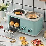 Blue Multifunctional Microwaves