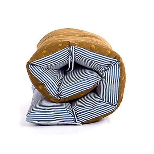 Coussin Bain de Soleil transat Topper, Remplacement Pad Jardin Confortable Moelleux Galettes de Chaise Inclinable Relax Lounge Coussins de Chaise Haut Dos Coussin d'assise-Bleu 165X57cm(65x22in)