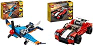 LEGO 31099 Propeller Plane & LEGO 31100 Sports