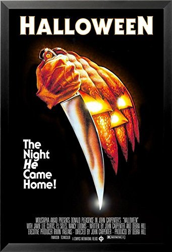 Buyartforless Filmposter John Carpenters Halloween (1978), 36 x 24 cm, Motiv: Horror The Night He Came Home!