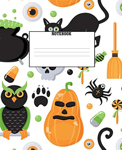 Notebook: Show off your Halloween excitement with this fantastic journal!