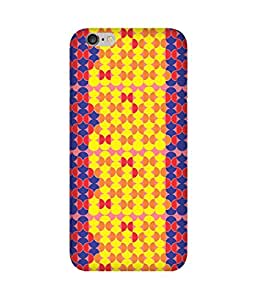 Stripes And Elephant Print-87 Apple iPhone 6 Case