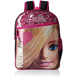 Barbie Pink and Black Children's Backpack (Age group :8-12 yrs)
