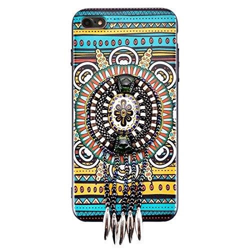 Wkae Retro ethnischer Art-schützender rückseitiger Abdeckungs-Fall für iPhone 6 u. 6s ( SKU : Ip6g6676e ) Ip6g6676g