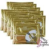 El colágeno Crystal Eye Mask Patch cojín anti arrugas de humedad - 10 pares