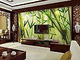 Acutray die Tapete Bambus 3d Wallpaper Wallpaper Wandmalereien von großen Sofas im Wohnzimmer TV-Wand Schlafzimmer Wänden